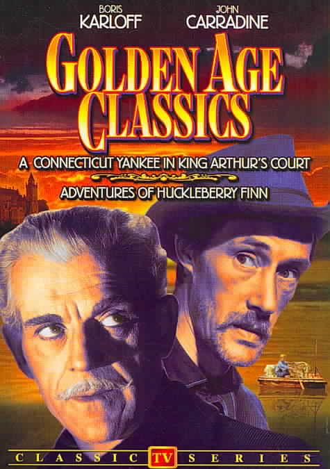 ADVENTURES OF HUCKLEBERRY FINN/CONNEC BY CARRADINE,JOHN (DVD)